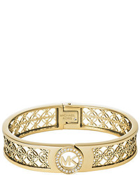 Michael Kors Michl Kors Fulton Mk Monogram Bangle