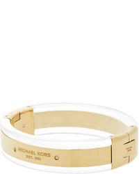 Michael Kors Michl Kors Hinged Logo Plaque Bracelet