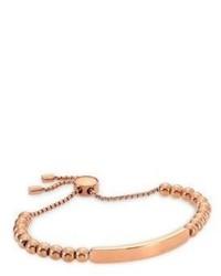 Michael Kors Michl Kors Logo Plaque Slider Id Bracelet