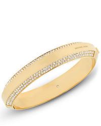 Michael Kors Michl Kors Pav Crystal Logo Bracelet