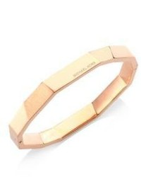Michael Kors Michl Kors Urban Rush Faceted Bangle Braceletrose Goldtone