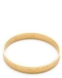 Kate Spade New York Engraved Bridesmaid Bangle Bracelet