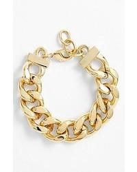 Nordstrom Large Curb Link Bracelet Gold