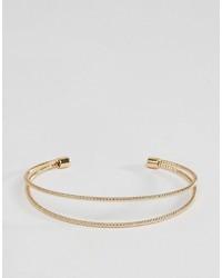 Asos Open Coil Cuff Bracelet