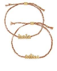 Madewell Pack Of 2 Friendship Bracelets