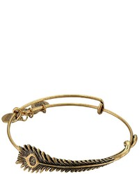 Alex and Ani Peacock Feather Wrap