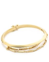 Eddie Borgo Peaked Chain Cuff Bracelet