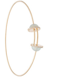 Delfina Delettrez Pearl End Bangle
