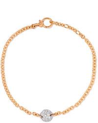 Pomellato Sabbia 18 Karat Rose Gold Diamond Bracelet One Size