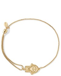 Alex and Ani Precious Metals Symbolic Hand Of Fatima Pull Chain Bracelet