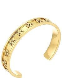 Tory Burch Raised Logo Cuff Bracelet Bracelet