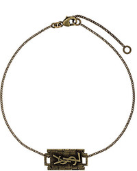 Saint Laurent Razor Blade Bracelet