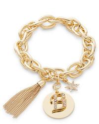RJ Graziano Rj Graziano B Initial Chain Link Charm Bracelet