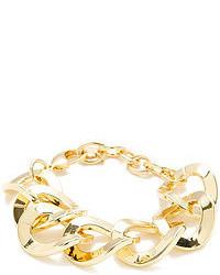 RJ Graziano Gold Large Link Bracelet