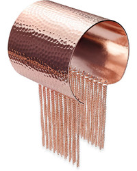 Thalia Sodi Rose Gold Tone Chain Fringe Cuff Bracelet Only At Macys