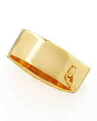 Eddie Borgo Safety Chain Cuff Yellow Golden