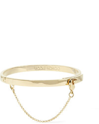Eddie Borgo Safety Chain Gold Plated Bracelet