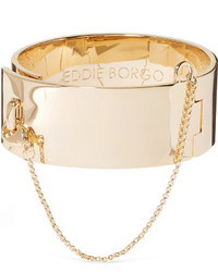 Eddie Borgo Safety Chain Gold Plated Bracelet