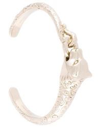 Salvatore Ferragamo Panther Cuff Bracelet