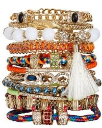 Adia Kibur Set Of 11 Bracelets