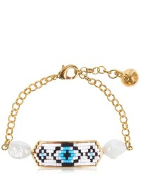 Shourouk Moodz Pearl Eye Bracelet