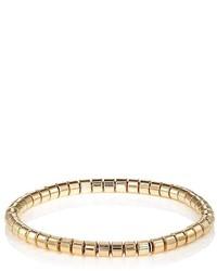 Sidney Garber Yellow Gold Tubular Link Bracelet