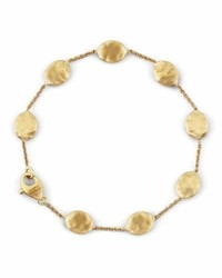 Marco Bicego Siviglia 18k Gold Single Strand Bracelet