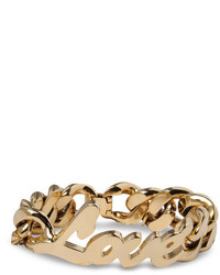 Stella McCartney Love Chain Bracelet