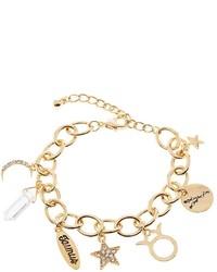 Charlotte Russe Taurus Charm Bracelet