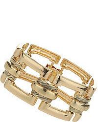 Topshop Large Square Link Bracelet