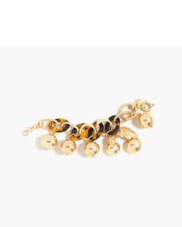 J.Crew Tortoise Link Bracelet With Cherries