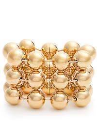 Balenciaga Triple Ball Bead Chain Bracelet