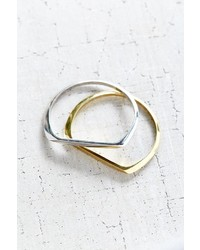 Urban Outfitters Milo Metal Bangle Bracelet Set