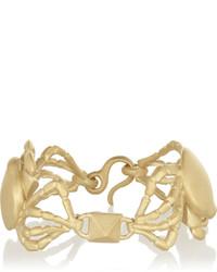 Valentino Cancer Gold Tone Bracelet