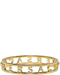 Versace Gold Logo Bangle