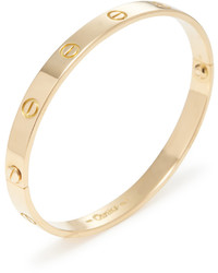 Cartier Vintage 18k Yellow Gold Love Bracelet 20cm