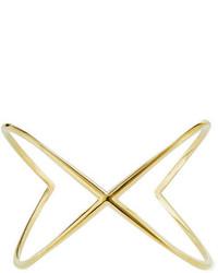 Elizabeth and James Windrose Orbital Cuff Bracelet Gold