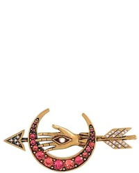 Alexander McQueen Arrow And Moon Brooch
