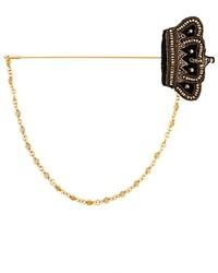 Dolce & Gabbana Crystal Crown Brooch