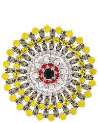 Givenchy Crystal Embellished Brooch