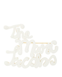 Marc Jacobs Off White The Icing Brooch