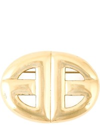 Givenchy Vintage Logo Brooch