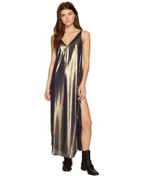 Free People Anytime Shine Maxi Slip Dress
