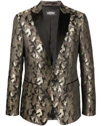 DSQUARED2 Camouflage Print Blazer