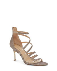 Imagine by Vince Camuto Roselle Metallic Clear Sandal