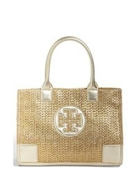 Gold Canvas Tote Bag