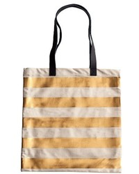 Canvas tote metallic medium 3684261
