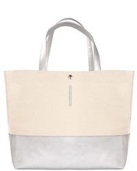 Monogram canvas tote metallic medium 3996432