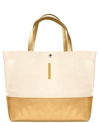 Monogram canvas tote metallic medium 4912982