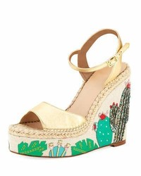 Kate Spade New York Dallas Cactus Platform Wedge Sandal